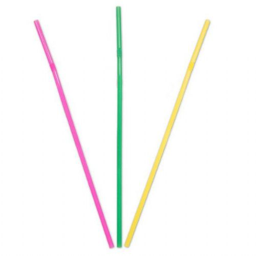 Straws Assorted 24cm 50's Rockabilly Rock n Roll 50s